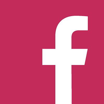 Facebook logo linking to adore every detail facebook page